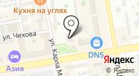 Центр междугородней связи на карте
