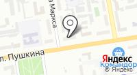 Сибирская мушка на карте
