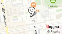 Купалинка на карте