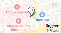 Станция скорой медицинской помощи г. Абакана на карте