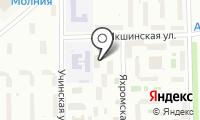 Отдел МВД России по Северному административному округу на карте