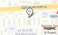 Почтовое отделение МОСКВА 215 на карте