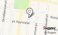 Почтовое отделение АБАДЗЕХСКАЯ на карте