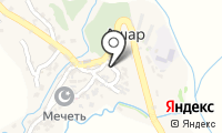 Почтовое отделение АШАР на карте