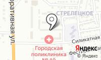 Почтовое отделение АСТРАХАНЬ 13 на карте