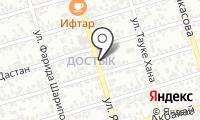 Кульджа на карте
