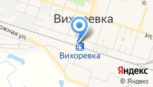 На перроне на карте