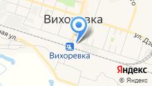Братский линейный отдел МВД РФ на транспорте на карте