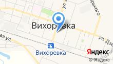 Славянский на карте