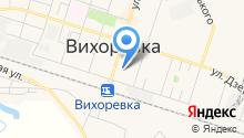 Дорожный физкультурно-спортивный клуб на карте
