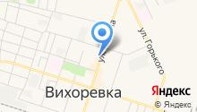 Бакор на карте