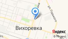 Красная шапочка на карте