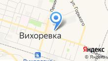 Социальный на карте