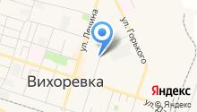 Эпсис на карте