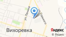 Колымская на карте