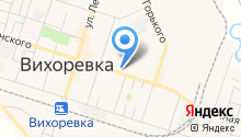 Дума Вихоревского муниципального образования на карте