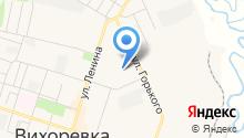 Детский сад, Берёзка на карте