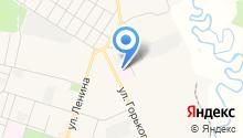 Вихоревская городская больница на карте