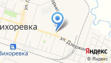 Магазин фруктов и овощей на ул. Горького на карте