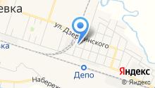 Межпоселенческая библиотека Братского района на карте