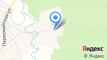 Территориальный отдел по Братскому лесничеству на карте