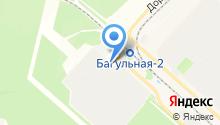 Братский завод ферросплавов на карте
