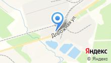 Байкальские канаты на карте