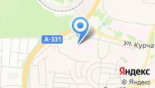 Братская районная больница на карте