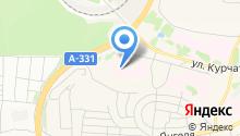 Братская центральная районная больница на карте
