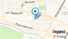 Братск-Иркутск-Братск на карте