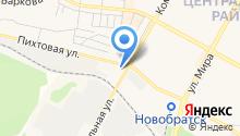 Байкалрыбвод, ФГБУ, Братский филиал по мониторингу на карте