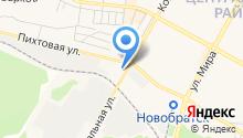 Братское монтажное управление Гидроэлектромонтаж на карте