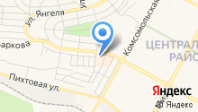 Oneaero.ru - чартерные авиабилеты из Братска - Чартерные авиабилеты из Братска на карте