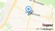 Авиационно-транспортное агентство на карте