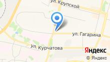 Центральная аптека, МП на карте