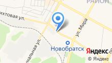 Дирекция городской инфраструктуры г. Братска на карте