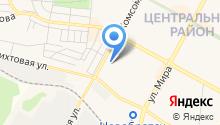 Автостоянка, Всероссийское общество автомобилистов на карте