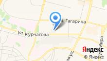 Дирекция городской инфраструктуры г. Братска, МП на карте