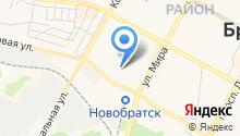 Братский Полигон ТБО на карте