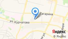 Братский Городской Лесхоз, МКУ на карте