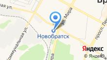 Байкальская пригородная пассажирская компания на карте