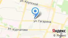 Адвокатский кабинет Капендюхиной М.А. на карте
