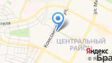 Бухалк на карте