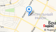 Детский сад №51, Жарок на карте