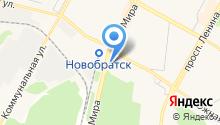 Автолада на карте