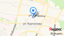 Братское троллейбусное управление на карте