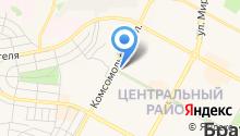 Первый Братский филиал Иркутской областной коллегии адвокатов на карте