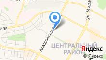 ДАвыдова на карте