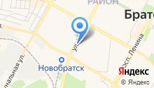 Арбуз на карте