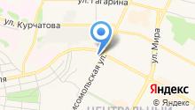 Братская детская городская больница на карте